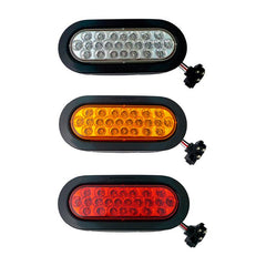 6 inch Oval Marker Light 24 Led Kit
