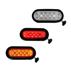 6 inch Oval Marker Light 17 LED Kit
