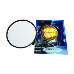 8.5 inch Led Convex Mirror w/ LED Turn Signal