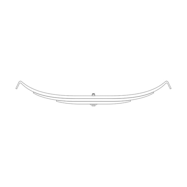 TRA-2727HD - Trailer Leaf Spring