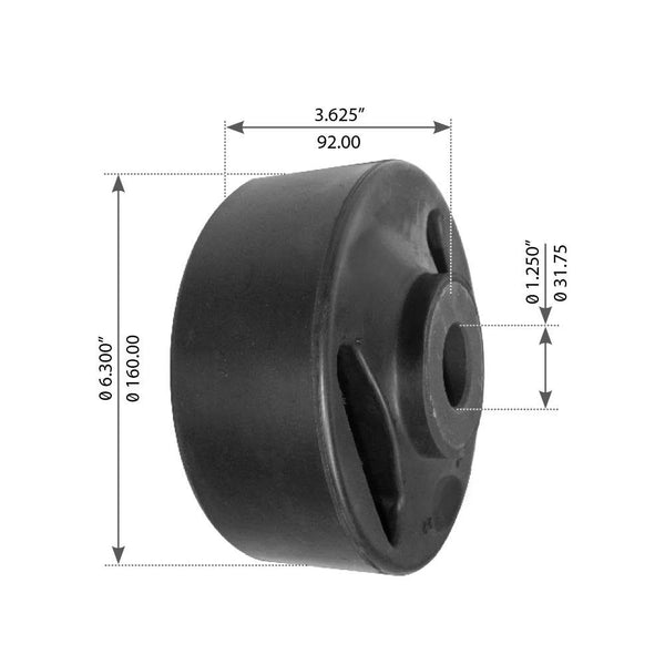 Beam End Bushing For Hendrickson - (D22845)