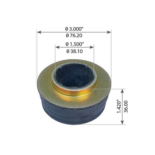 Cabin Mount Bushing For Peterbilt 357/365/378/379/385/389 - (2008257)
