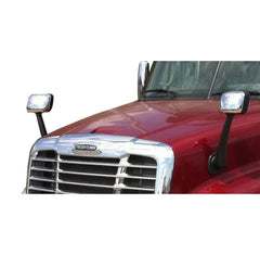 Chrome Hood Mirror For Freightliner Cascadia - A22-66565-002 A22-66565-003