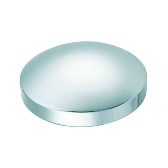Chrome Rear Hub Cap 8-1/2
