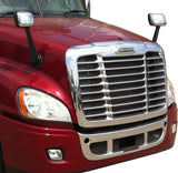 Freightliner Cascadia Chrome Grille with Bugscreen - Fit 2008-2017