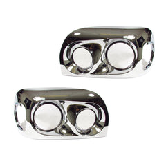 Freightliner Century Headlight Chrome Bezel Chrome - 2005 Model