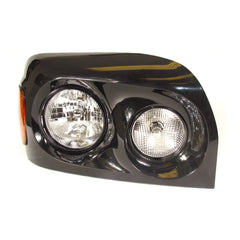 Freightliner Century Black Headlights Assemblies 2005+