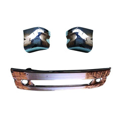 Freightliner Columbia Chrome Bumper Set