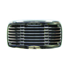 Freightliner Columbia Chrome Grille with Bugscreen Fit 2000 - 2008