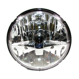 "Freightliner LED Headlight 7"" High, Low Beams"
