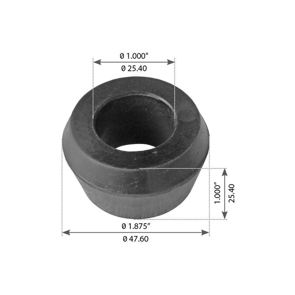 Front Bushing, Shock Absorber For Volvo/White WA/WC/WG/WI/WH/WS/WX - (1134962)