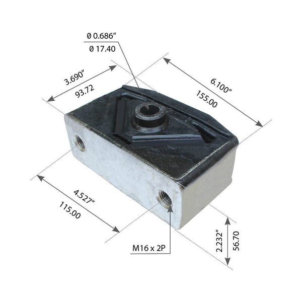 Front Cabin Isolator For Kenworth - (267322)