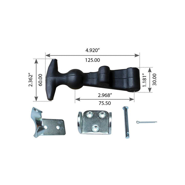 Hood Latch For Freightliner