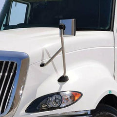 Chrome Hood Mirror For International Prostar - 3594843C3, 3594844C3