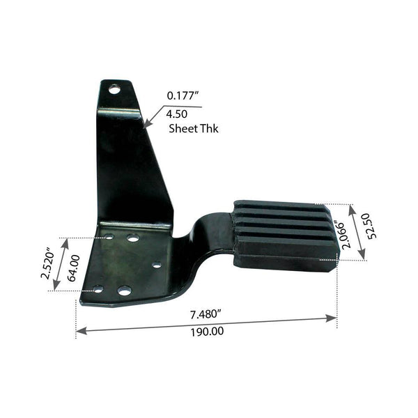 Left Hood Bracket For Mack CH/CL - (140QM434M)