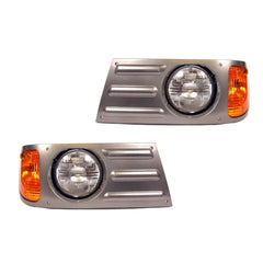 Mack Granite CV713 Headlights - Gray