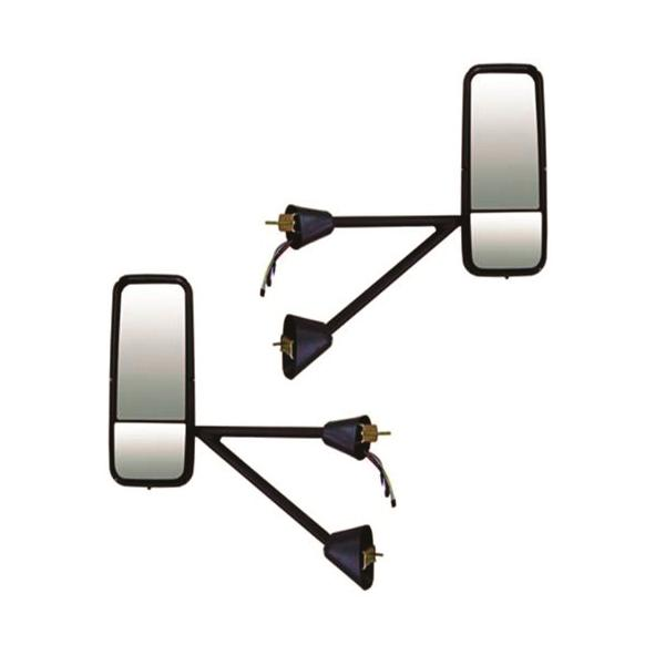 Chrome Power & Heated Mirror Assemblies for Kenworth T600/T660/T800 Series