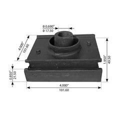 Motor Mount For International Navistar - (1664723C3)