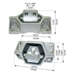 Motor Mount For Mack CH/CV/CL/CX - (20QL47AM)