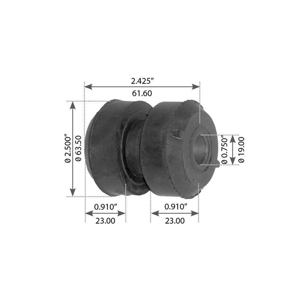Motor Mount For Peterbilt Model 379, C15 & C11 - (CB220370)