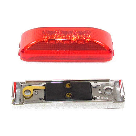 Rectangular Side Marker Light 3 Led