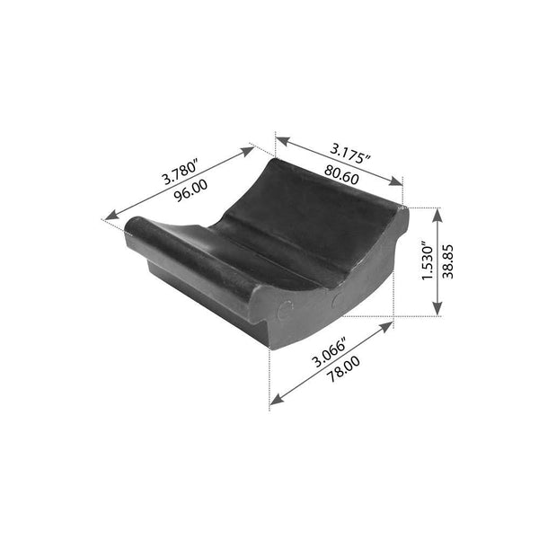Rear Slipper Pad For Hendrickson HAS 360/400/402/460/40LH - (56929000)