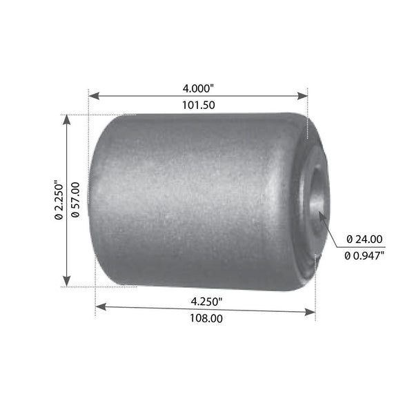 Spring Eye Bushing For Mack - (10QK3108)