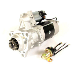 FORTPRO F235413 39MT 12V STARTER with OCP IMS and Rotable Flange Compatible with Freightliner International Kenworth Mack Peterbilt Volvo | Replace 8200308