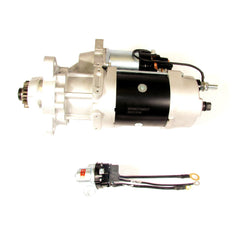 FORTPRO F235414 39MT 24V STARTER with OCP, IMS and Rotable Flange Compatible with Ford Freightliner Kenworth | Replaces DELCO 8200330, 10461024, 10461030