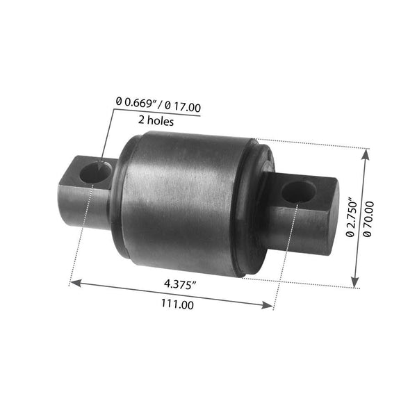 "2-3/4"" Straddle Mount Cartridge For Hendrickson - (1688-227720)"