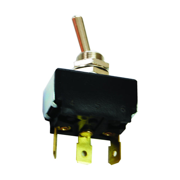 Toggle Switch - 2 Positions, 3 Terms, Push Connection