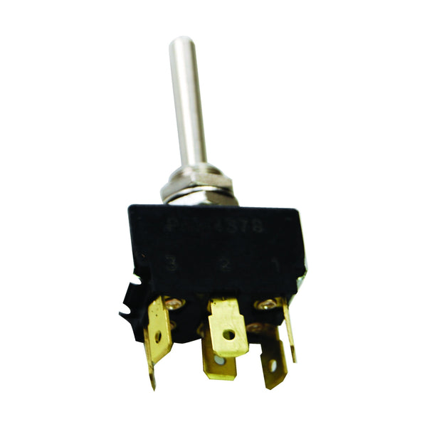 Toggle Switch - 2 Positions, 6 Terms, Push Connection