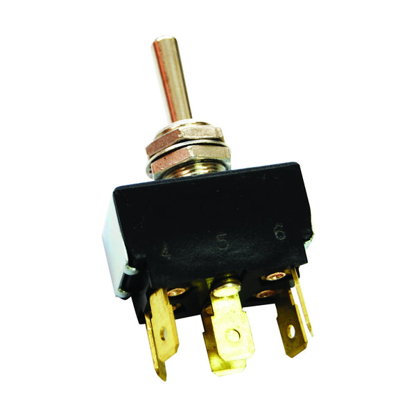 Toggle Switch - 3 Positions, 6 Terms, Push Connection