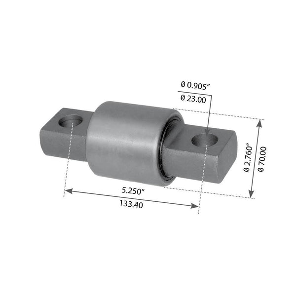 Torque Arm Bushing For Hendrickson - (666490003L)
