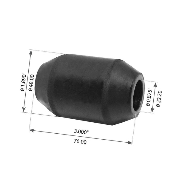 "3"" Torque Rod Bushing For Freightliner FH36, FH40 - (1394501)"