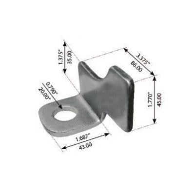 Wear Pad For Freightliner Rear Fas Airliner II - (1616456001)