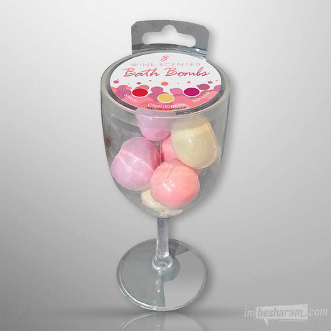 Wine-Scented Bath Bombs