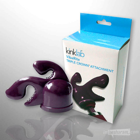 KinkLab VibeRite Triple Crown Attachment