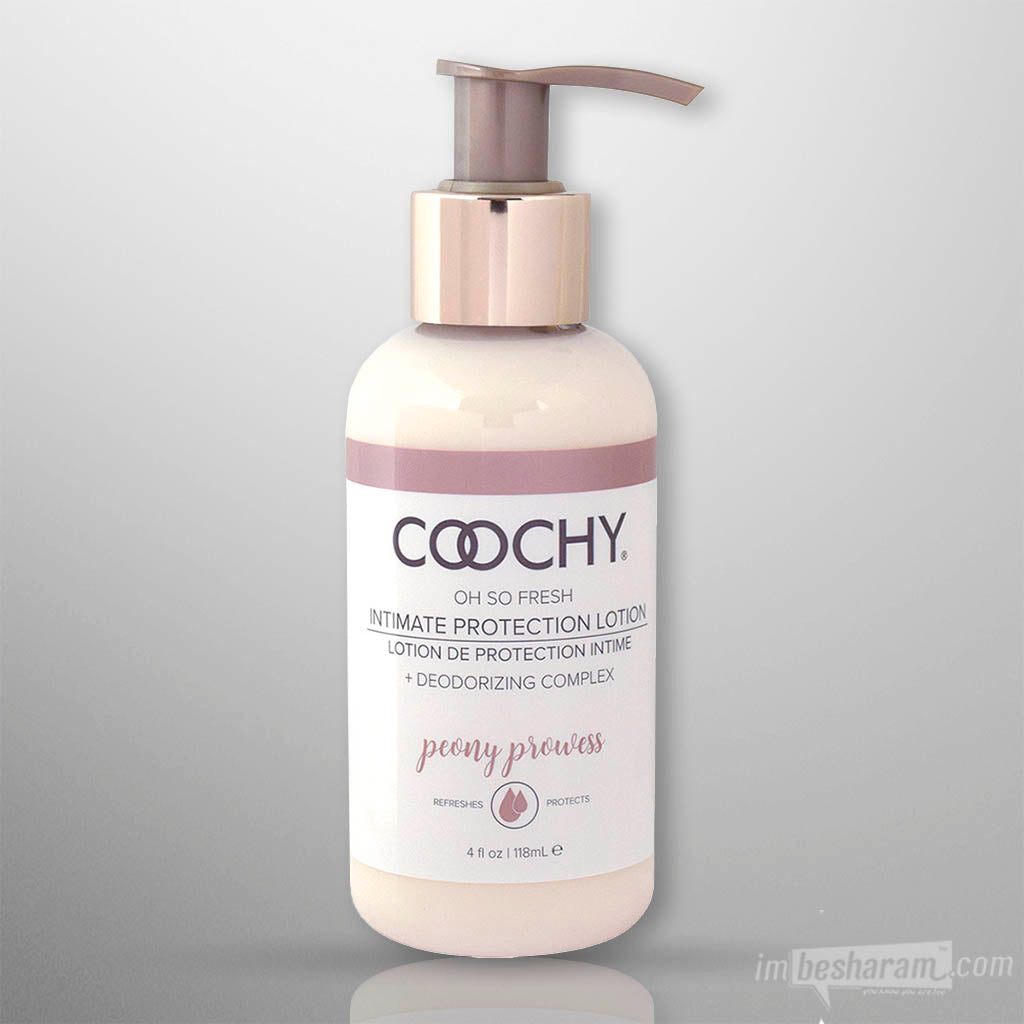Coochy Intimate Protection Lotion Peony Prowess 4oz