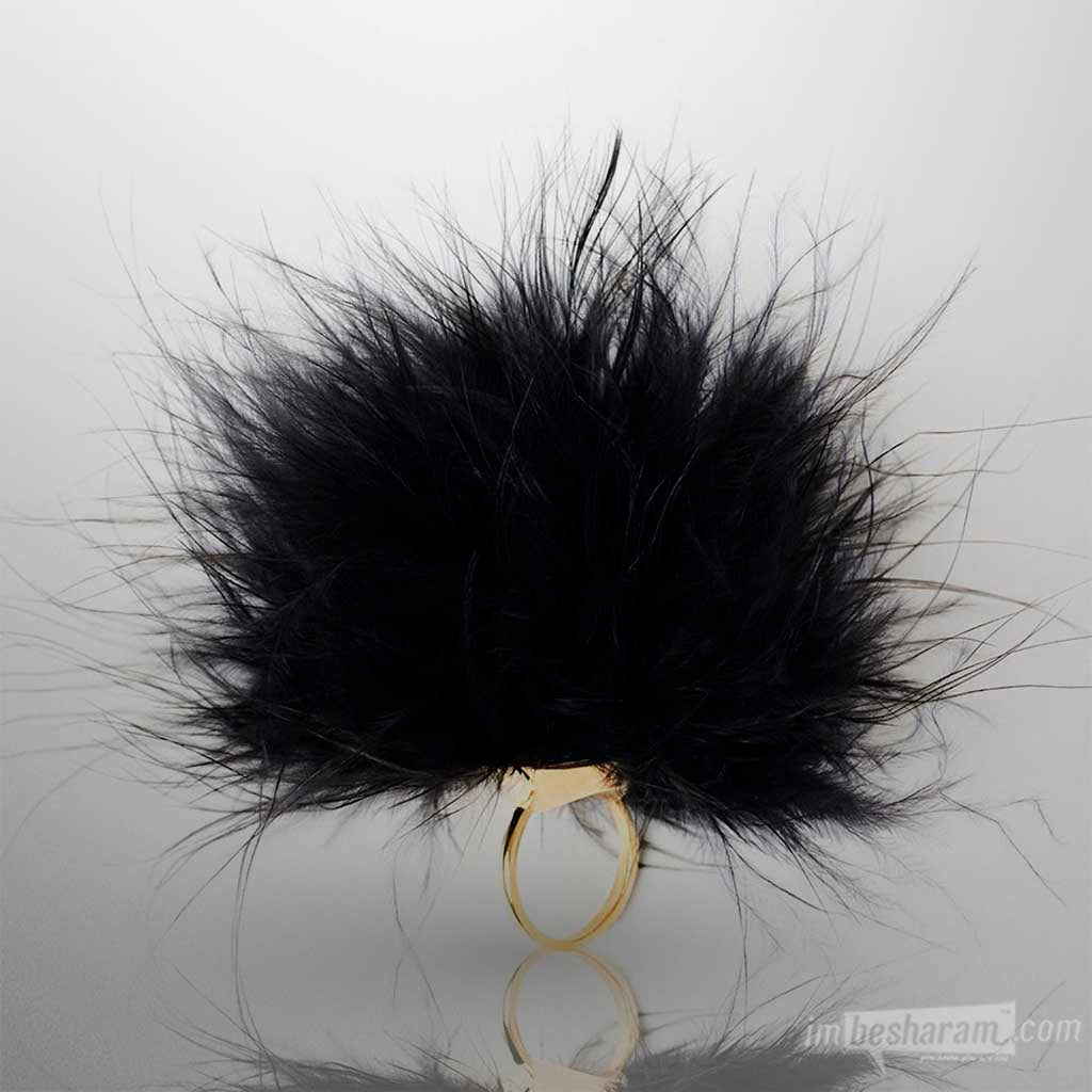 Cleopatra Peacock Tickler Ring