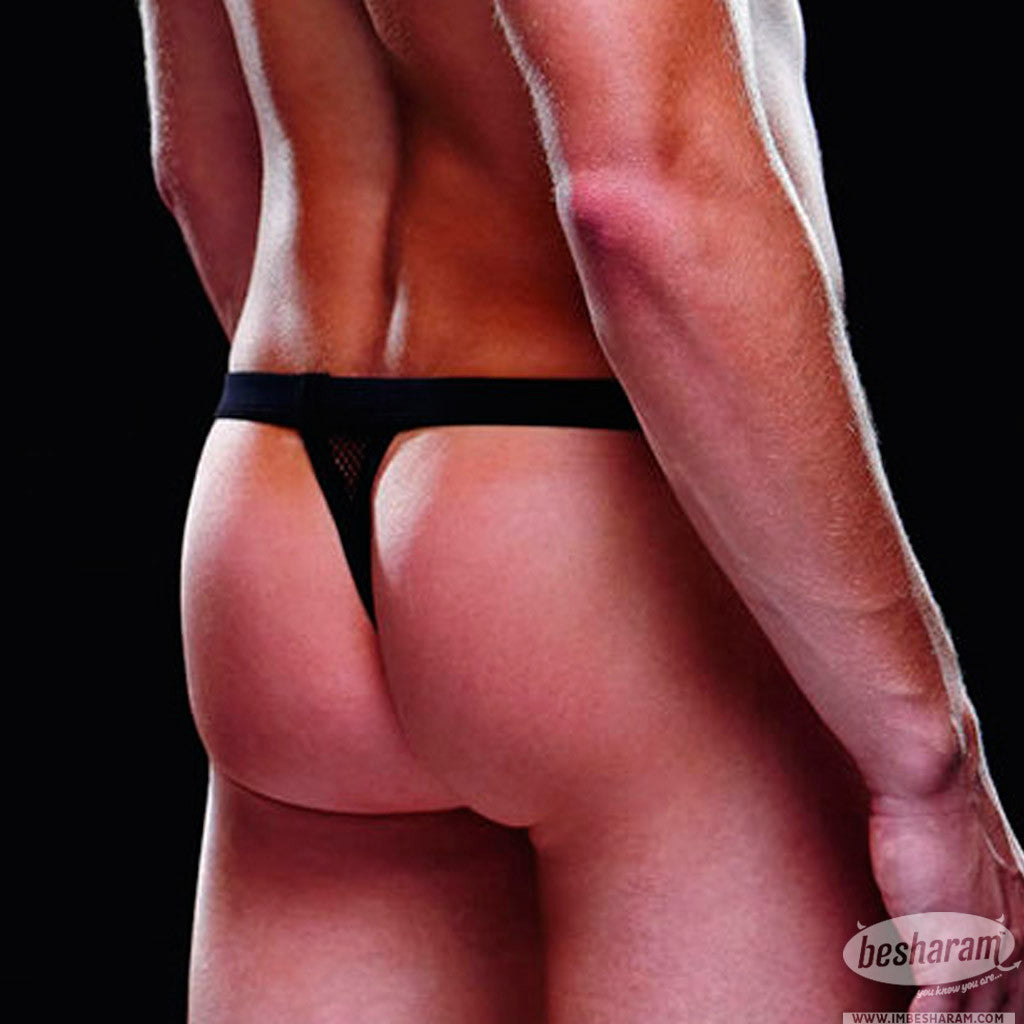 Baci Envy Fishnet Sport Thong main image 3
