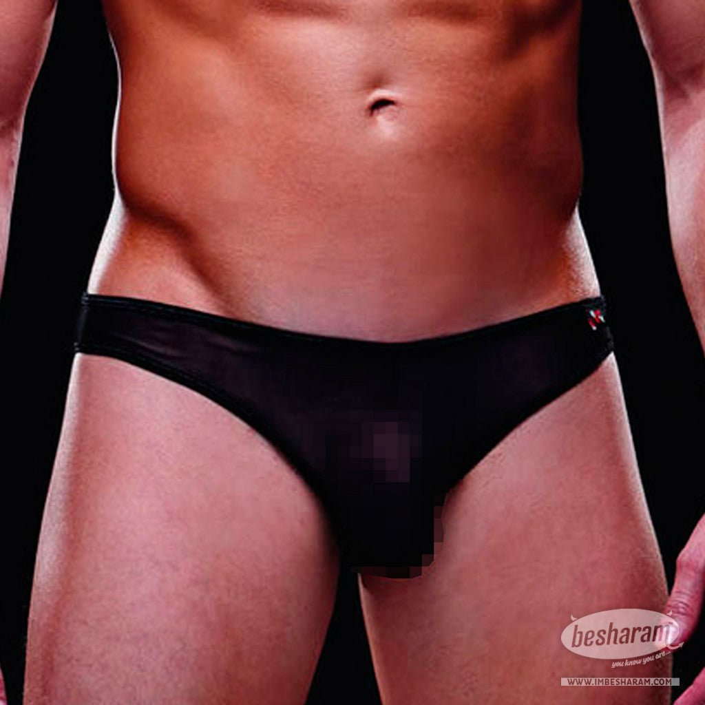 Baci Envy Mesh Brief