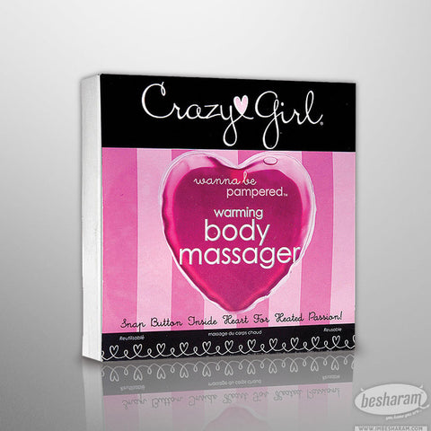 Crazy Girl Warming Heart Body Massager