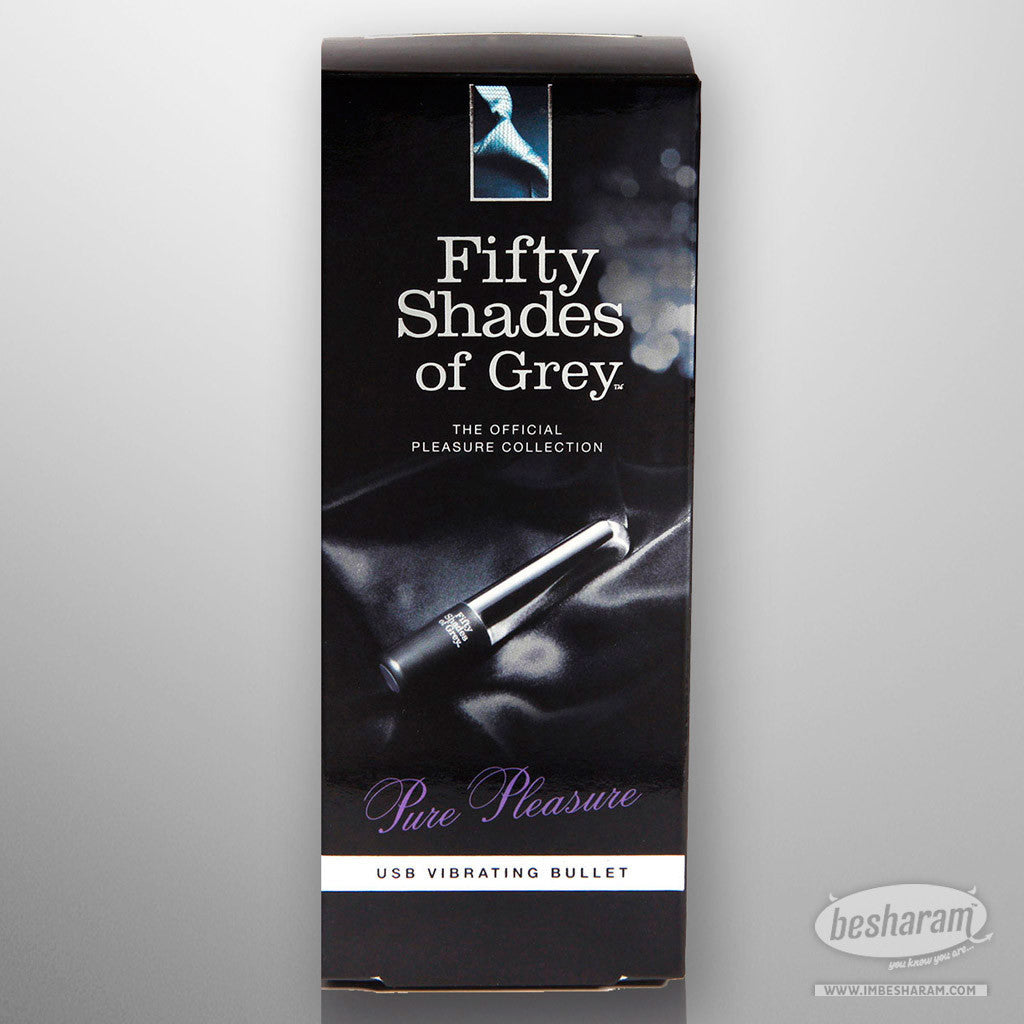 Fifty Shades Of Grey Pure Pleasure USB Vibrating Bullet