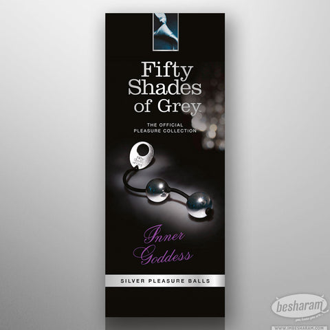 Fifty Shades Of Grey Silver Pleasure Balls