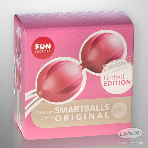 Fun Factory Smartballs Magenta/Pearly Rose