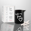Love In Luxury Message Candle-Forbidden Fruit 5oz thumb image 1
