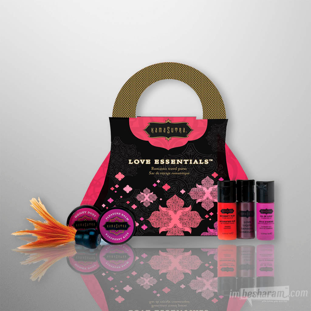 Kama Sutra Love Essentials Travel Purse