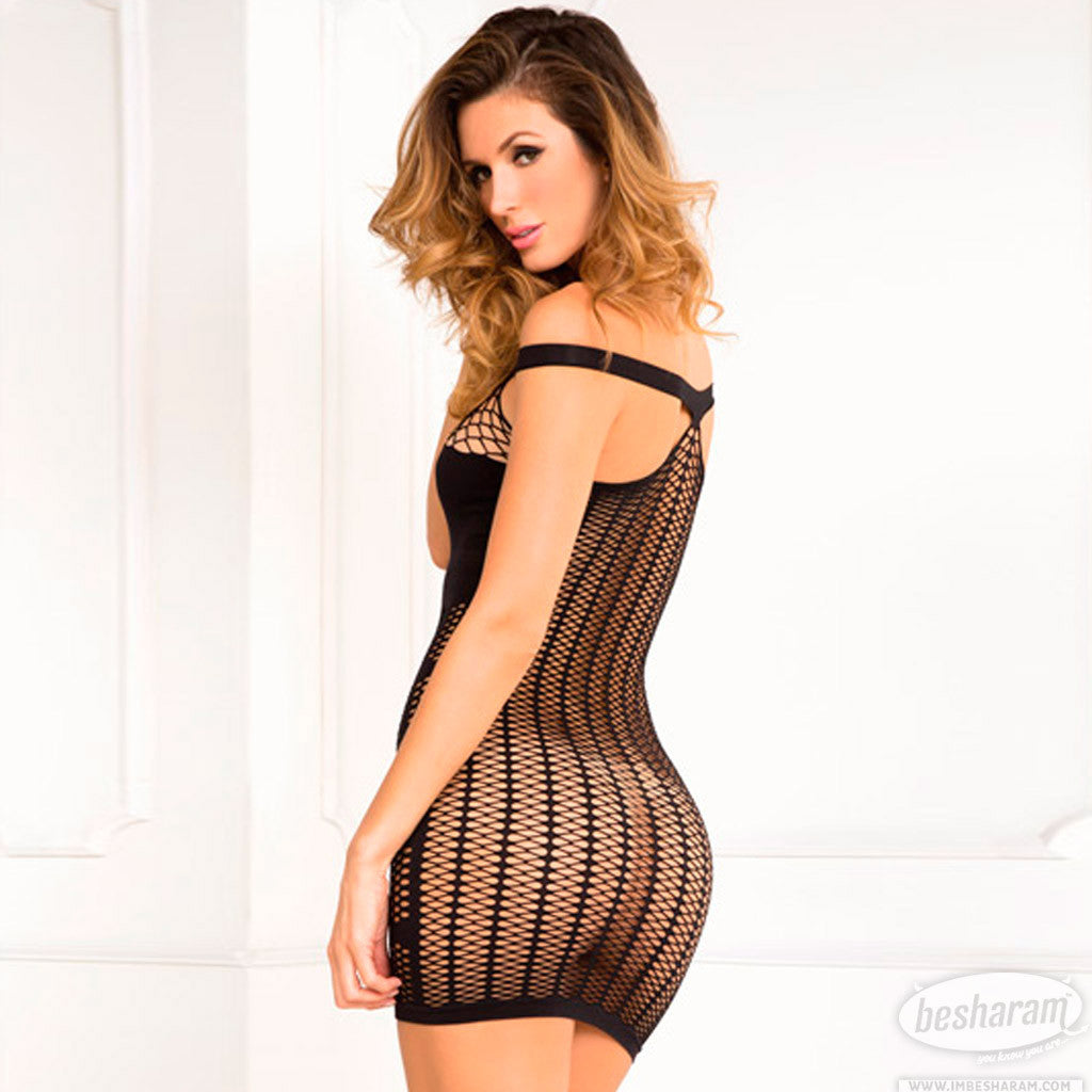 Rene Rofe Big Spender Multi-Net Seamless Dress main image 2