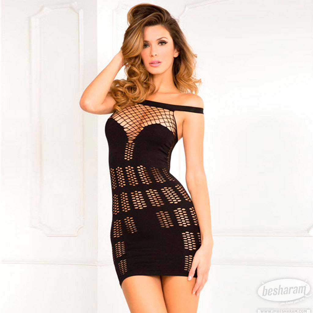 Rene Rofe Big Spender Multi-Net Seamless Dress